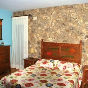 Dormitorio color madera